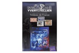 Yvert & Tellier Postzegelcatalogus Frankrijk (Timbres de France) 2021 (ISBN 978-286814-296-2)