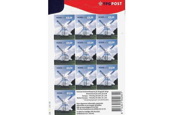 Nederland NVPH V2319 Gestempeld Velletje Voor uw post 0,39 euro 2005