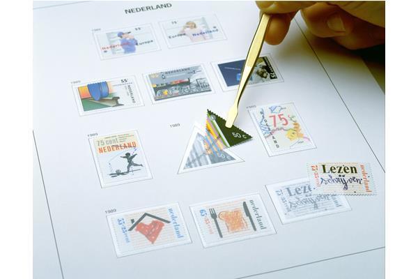 DAVO Luxe inhoud postzegelalbum Jersey II 2000-2009