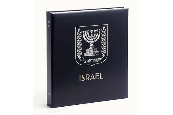 DAVO Standaard-Luxe postzegelalbum Israël IV 1990-1999 INCL. LUXE CASSETTE