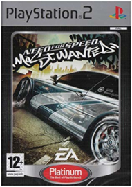 Need for Speed Most Wanted Platinum (zonder handleiding) - PS2