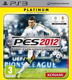 PES 2012 Pro Evolution Soccer Platinum - PS3