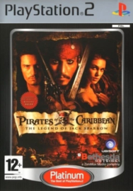 Pirates of The Caribbean The Legend of Jack Sparrow - PS2