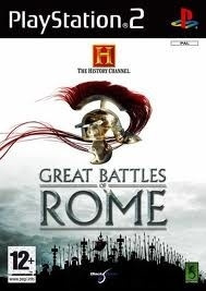 The History Channel The Great Battles of Rome - PS2