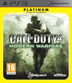 Call of Duty 4 Modern Warfare Platinum - PS3