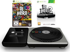 DJ Hero 1 + 2 + Draaitafel - Xbox 360
