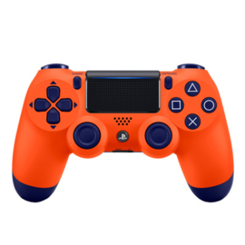 Sony Dual Shock 4 Controller - Oranje/Blauw