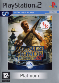 Medal of Honor Rising Sun (Platinum) - PS2