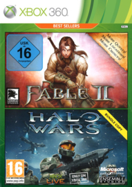 Fable 2 + halo Wars Double Pack