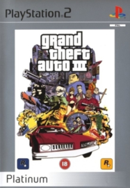 Grand Theft Auto III Platinum - PS2
