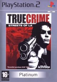 True Crime Streets of LA Platinum - PS2