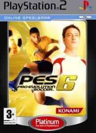 Pro Evolution Soccer 6 (Platinum) - PS2