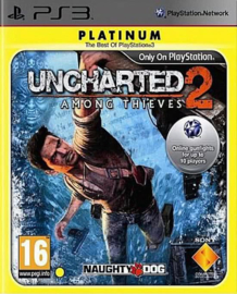 Uncharted 2 Among Thieves Platinum - PS3