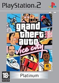 Grand Theft Auto Vice City Platinum - PS2