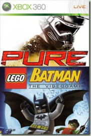 Pure / Lego Batman The Videogame - Xbox 360