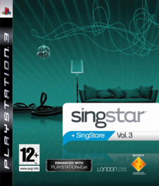 Singstar Volume 3 - PS3