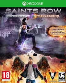 Saints Row 4 Re-Elected + Gat out of Hell - Xbox One