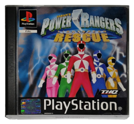 Power Ranges Lightspeed Rescue (zonder handleiding) - PS1