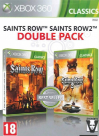 Saints Row 1 + 2 Double Pack - Xbox 360