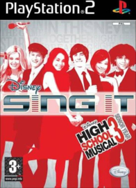 Disney Sing It High School Musical 3 Senior Year - PS2