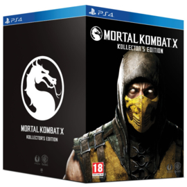 Mortal Kombat X Kollector's Edition - PS4