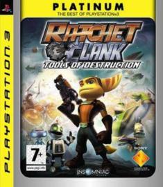 Ratchet And Clank Tools of Destruction Platinum - PS3