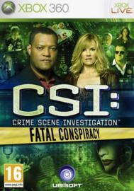 CSI Fatal Conspiracy - Xbox 360