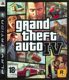 Grand Theft Auto IV (GTA 4) - PS3