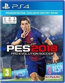 Pro Evolution Soccer 2018 - PS4