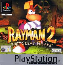 Rayman 2 The Great Escape Platinum - PS1