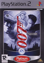 007 Everything or Nothing Platinum - PS2