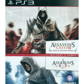 Assassin's Creed II Game of The Year Edition + Assassin's Creed - PS3