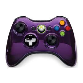 Xbox 360 Controller Chrome Purple