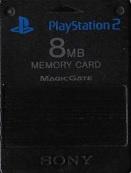 Memorycard zwart - PS2