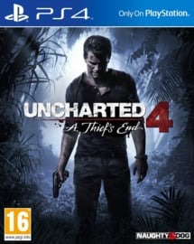 Uncharted 4 A Thiefs End - PS4