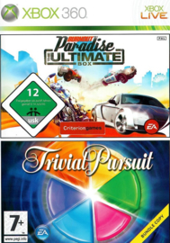 Burnout Paradise + Trivial Pursuit - Xbox 360