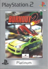 Burnout 2 Point of Impact Platinum - PS2