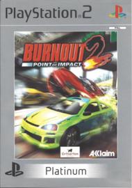 Burnout 2 Point of Impact Platinum - PS2