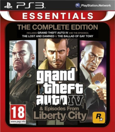 Grand Theft Auto IV & Episodes From Liberty City - PS3