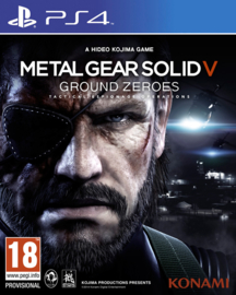 Metal Gear Solid 5 Ground Zeroes - PS4