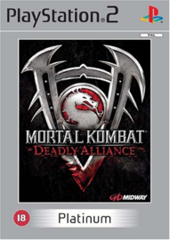 Mortal Kombat Deadly Alliance Platinum - PS2