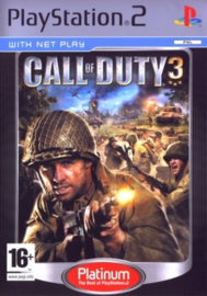 Call of Duty 3 Platinum - PS2