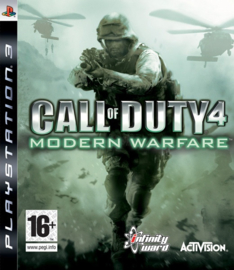Call of Duty 4 Modern Warfare - PS3