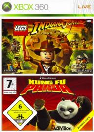Lego Indiana Jones + Kung Fu Panda - Xbox 360