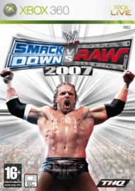 WWE Smackdown vs Raw 2007 - Xbox 360