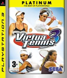 Virtua Tennis 3 Platinum - PS3