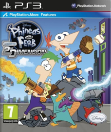 Phineas and Ferb Across the 2nd Dimension - PS3