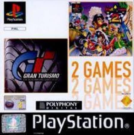 Gran Turismo & Motor Toon Grand Prix 2 - PS1