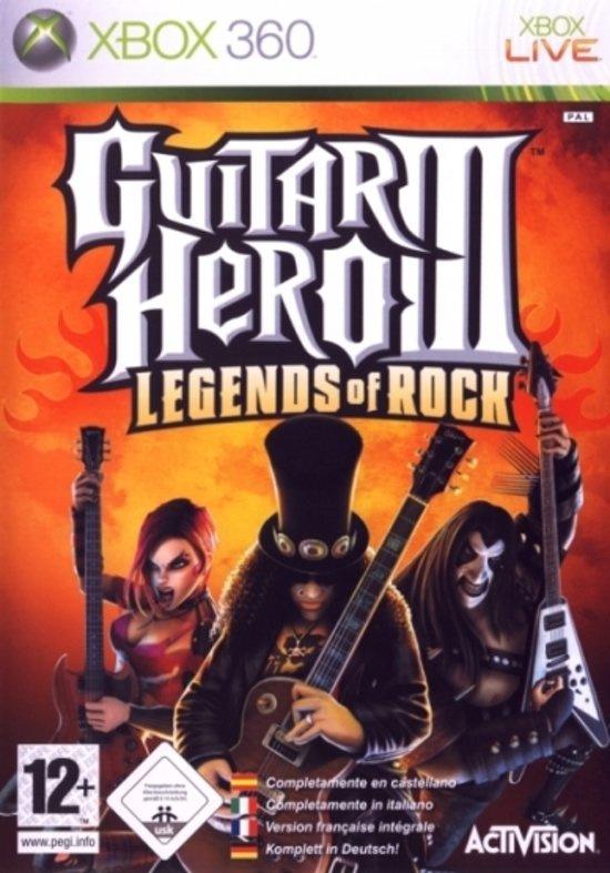 Guitar Hero III Legends of Rock - Xbox 360