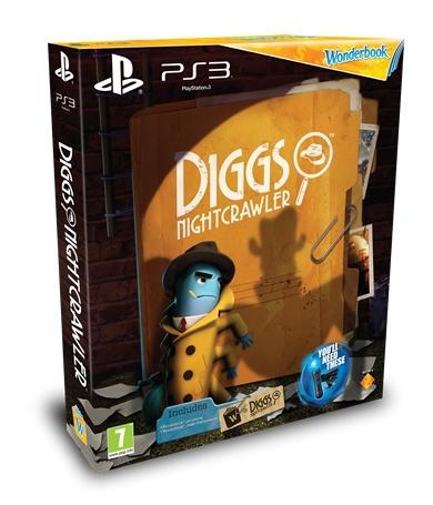 Diggs Nightcrawler + Wonderbook in doos